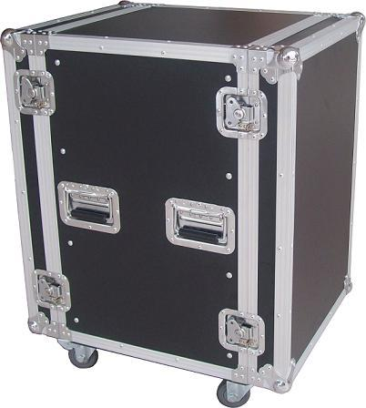 10mm Plywood Rack Flight Case , Equipment Aluminum Carrying Case