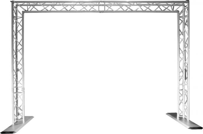 Portable Goal Post Triangle Truss System / Outdoor Box Truss