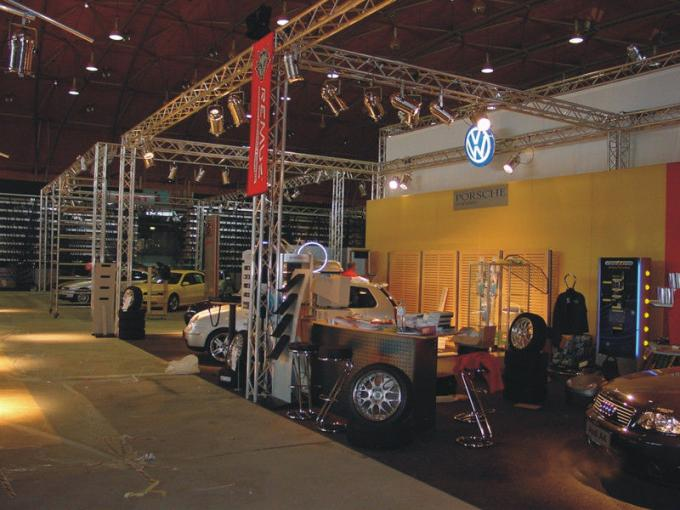 Aluminum Stage Lighting Truss Professional For Auto Show Truss