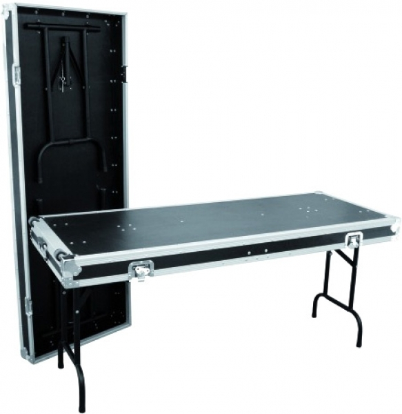 Black color Portable Mixer Cases / Aluminum Tool Cases  / Keyboard Flight Case