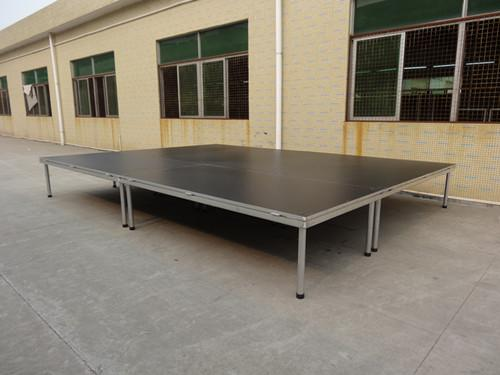 6082 Aluminum Moving Stage 18mm PVC glass For event on water