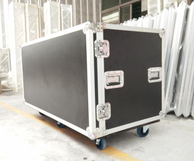 Custom Drum Case with 12mm Thickness Plywood and 20mm Thickness EVA Foam Inside、