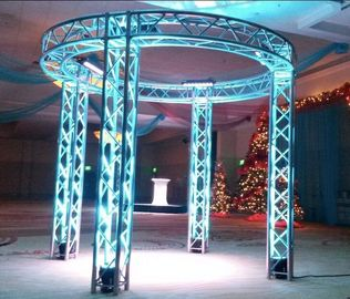 China Party DI Aluminum Stage Lighting Truss ARC / Ladder / Triangular / Square Shape supplier