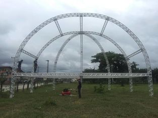 China 16m Span Outdoor Aluminum  Stage  Truss For Concert Truss , Corrosion Resistance supplier