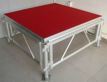China  Movable Stage Platform Corrosion Resistance Simple Stage supplier