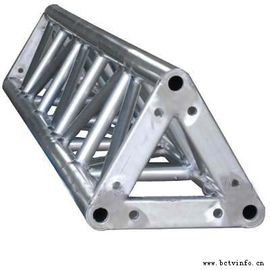 China 300*300 Triangle Shape Silver Aluminum Spigot Triangle Truss With Different Length For Ourdoor Performance supplier