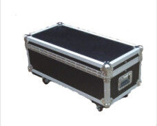 Aluminum Flight Case For Speaker , Heavy Duty Case -40°C - 80°C Protect Equipment Increased  Shockproof Material