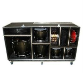 Aluminum Tool  Flight Cases large drum flight case with foamed inside/Shockproof Meterial