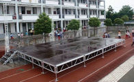 Good Quality Aluminum Stage Truss & Waterproof Movable Stage Platform , Folding Stage Aluminum T6082-T6 on sale
