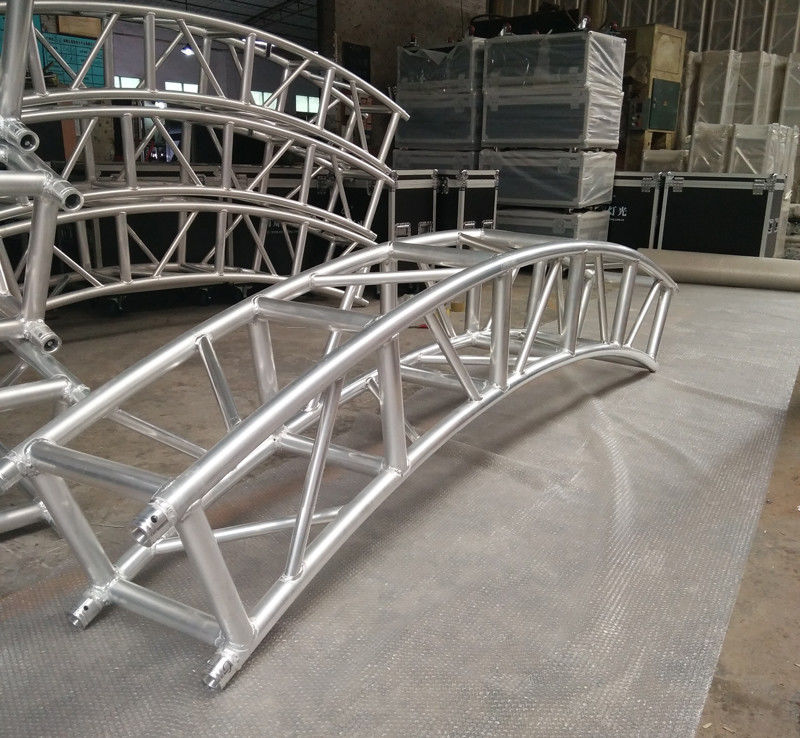 400*400mm Aluminum Alloy 6082-T6 Square Spigot Arch Lighting Truss / Aluminum Roof Truss