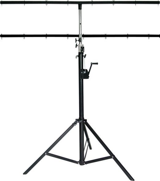 4m Height Light Weight Steel Global Truss Crank Stand For Event Lighting Truss