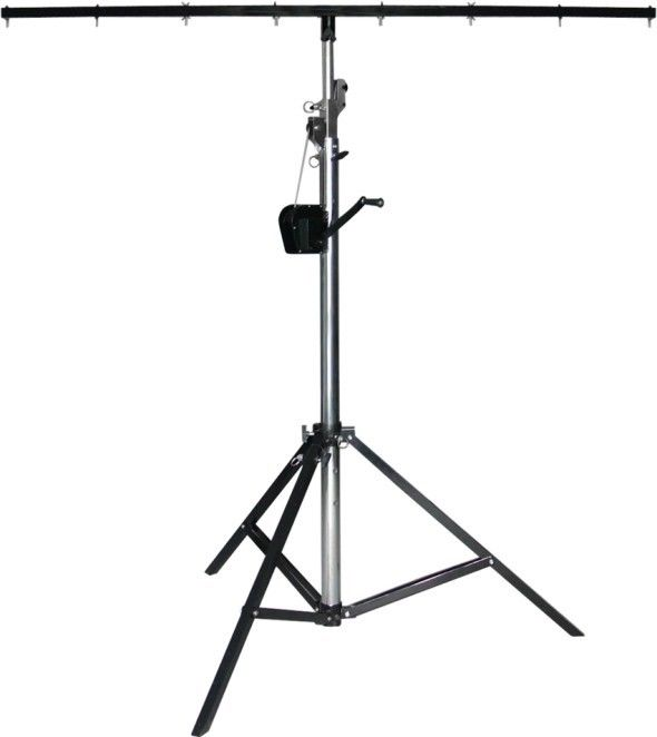 Photography Aluminum Truss Crank Stand For Studio Flash Light 1-1.8M