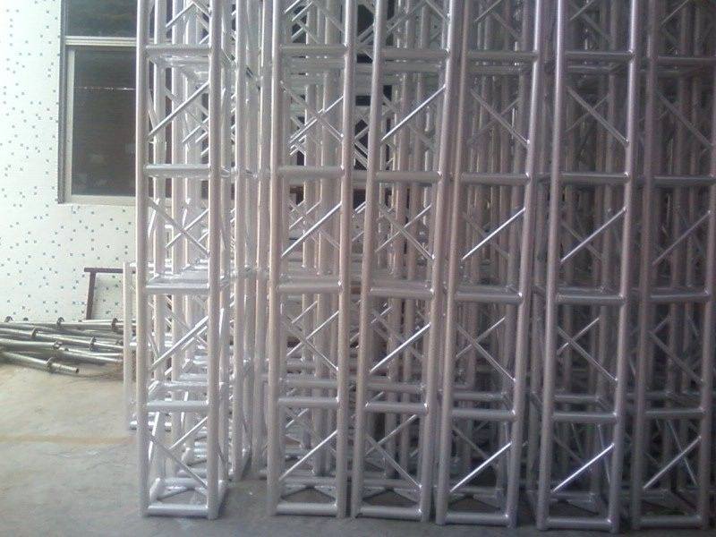 Square Tower Aluminum Stage Truss High Corrosion Resistance 0.5M-4M