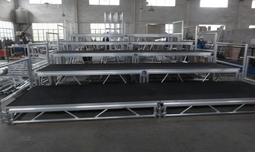 Toughened Glass Movable Stage Platform / Temporary Stage Platforms