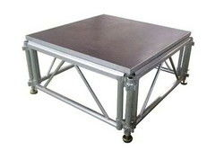 Movable Stage Platform / Aluminum Concert Stage with 18mm Plywood