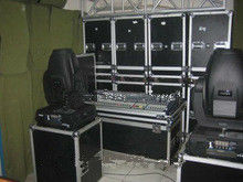 Customized Tool Cases / Aluminum Storage Cases For Speakers With Wheels