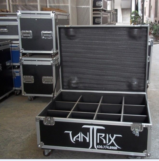 Aluminium Flight Case With Compartments For Performance Equipment