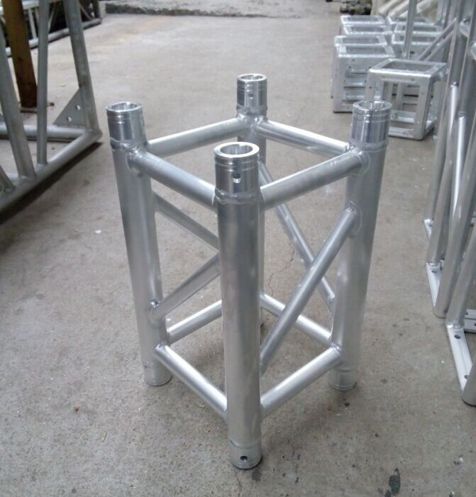 0.5m Spigot Aluminum Spigot Stage Truss 50mm Diameter Tube