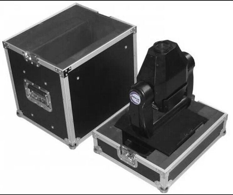 Orange Aluminum Moving Head Light Case for Stage Performance Events