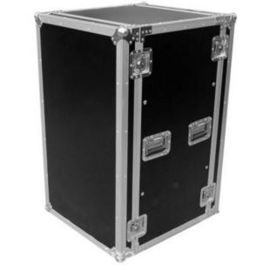 China Aluminum Moving Rack Flight Case Tool Box Potable  For Camera / 18U  Aluminum Storage Flight Case factory