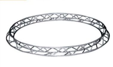300*300mm  4M Diamater Triangle Circular Truss For Ladder Truss , Aluminum 6082-T6