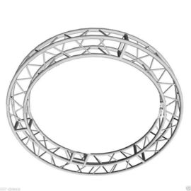 Aluminum Circle Spigot Truss , Square Circular Truss For Display Decorate