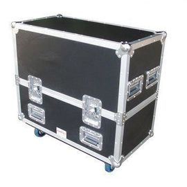 China Black Aluminum Flight Case With Wheels And Safe Locks And Strong Handle Size 1200*600*630MM factory