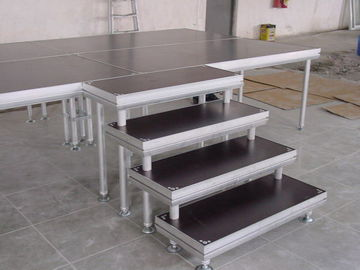 Aluminum stage/Mobile Concert Stage/Portable DJ stage Outdoor Aluminum  platform Adjustable Height stage