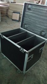 China 9 MM 6U 3 Partitions Flight Case For Cables ,  Aluminum Ata Flight Case factory