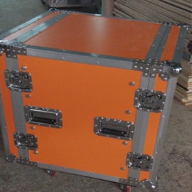 China Plywood Custom Flight Cases , Dj Flight Case Mobile Display Case factory