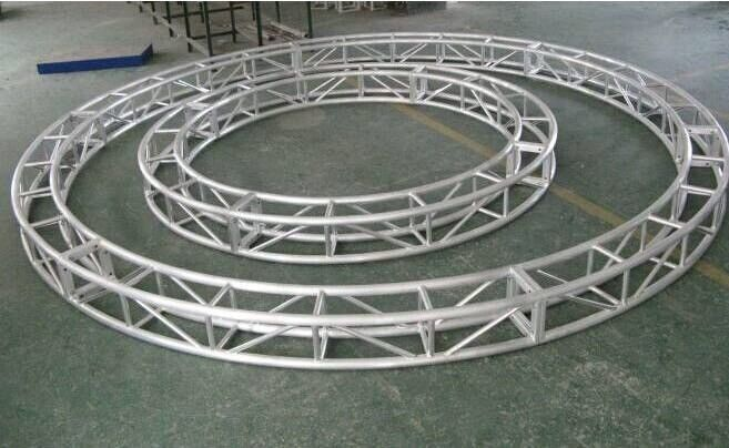 Triangular / Arc / Square Aluminum Stage Truss ,sound and light truss system for sale