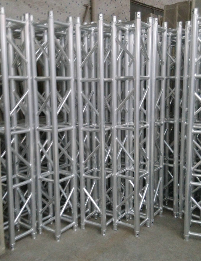 Square Tower Aluminum Stage Truss High Corrosion Resistance 0.5M-4M For Outdoors Concert ,Show