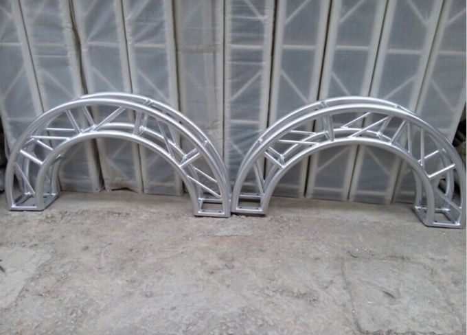 Silver Aluminum Truss System With Large Loading TUV 10m X 10m X 10m